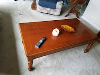 rectangular brown wooden coffee table Silver Spring, 20906