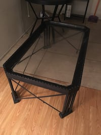 Glass coffee table, ready for pickup  Los Angeles, 90047