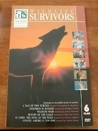 Wildlife Survivors film set (6 films) Kitchener, N2M 3T5