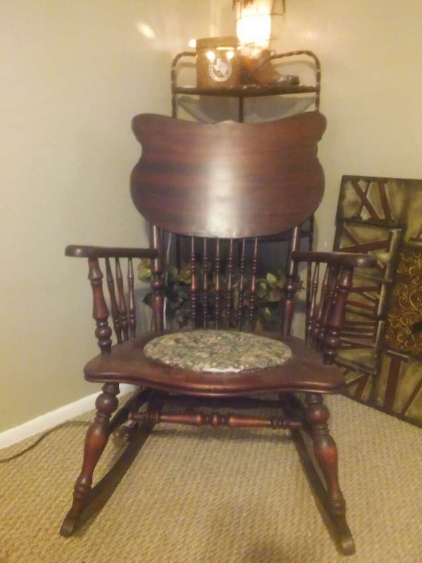 antique chamber pot rocking chair - Used Antique Chamber Pot Rocking Chair For Sale In Portales - Letgo