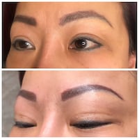 microblading correction from another artist  Las Vegas