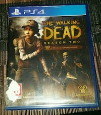 Juego ps4 the walking dead  Benalmádena, 29631