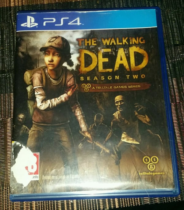 Juego ps4 the walking dead   0