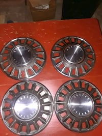 1968 Ford Mustang wheel covers Plainville