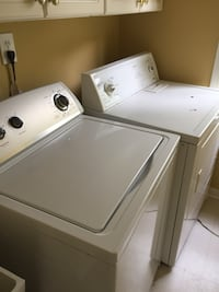 Used Kenmore Washer And Lg Dyer Set White For Sale In