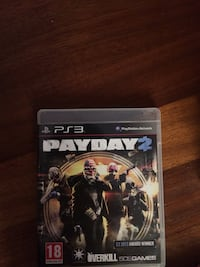 PS3 PayDay 2 Game