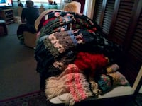beautiful handcrafted crocheted blankets Vancouver, 98660