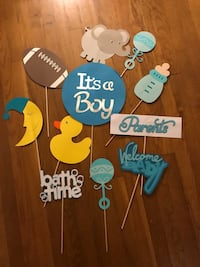 Baby shower photo props Somerville, 02145