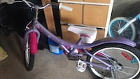 Toddler's pink and purple bicycle just need to b inflated Mississauga, L5L 5G6