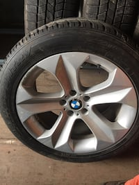 4 winter tires and rims Mississauga, L5R 3W8