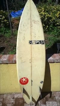 Surfboard shortboard 6'1