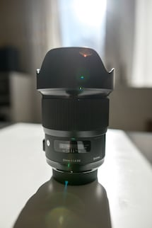 Sigma 20mm 1.4 Art lens (Canon mount)