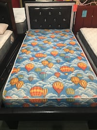 Twin Bed with Mattress Norwalk, 90650