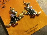 Witches riding Broomsticks Earrings Rialto, 92376