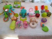 Baby toys for car seat strollers