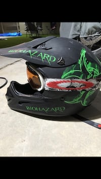 Biohazard motorcycle helmet dot approved Las Vegas, 89119