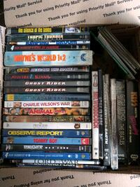 DVD and VHS lot