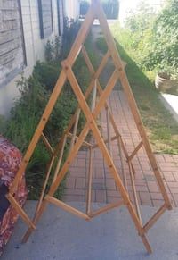 rare vintage clothes dryer stand