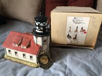 Ceramic lighthouse of California Dahlonega, 30533