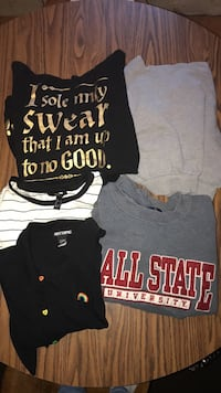 Women's crop shirts South Bend, 46635
