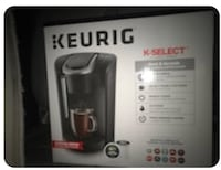 black and gray Keurig coffeemaker box San Francisco, 94124