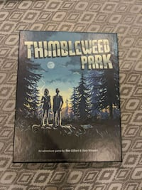 Thimbleweed park for Nintendo switch