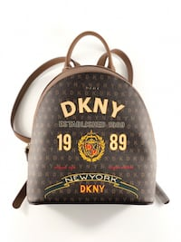 DKNY Scarf Print Signature Backpack Classic Logo Created for Macy's Clearwater, 33759