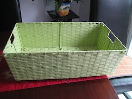 1 poly braided storage container