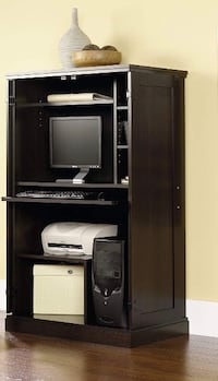 Computer desk/armoire with doors Annandale, 22003