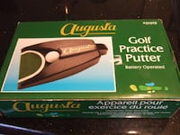new augusta new battery operated golf practice putter 1528