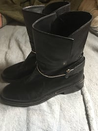 Take a look at these Balenciaga Black Boots Size 39