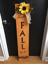 Porch Sign - Happy Fall Ya'll - if you would like another season please ask