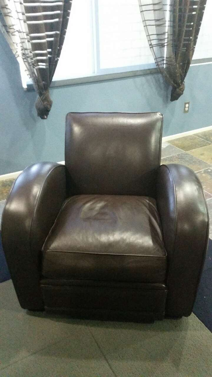 Room And Board Roadster Leather Chair