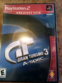 PS2 Gran Turismo 3 a-spec racing Allendale Charter Township, 49401