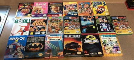 Nintendo NES Games Lot 19