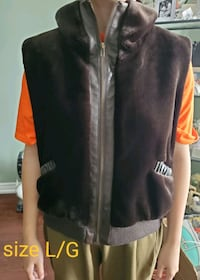 velvet vest size L/G  excellent condition Brampton, L6W 1V2
