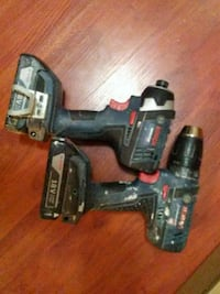 black and red cordless power drill Surrey, V3W