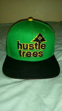 "Lrg ""hustle trees"" snapback"