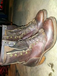 Leather welders boots Tulsa, 74112