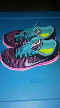 pair of blue-and-pink Nike running shoes Nashville, 37013