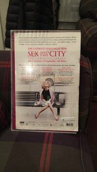 The ultimate sex and the city Dvd collection.  All 6 seasons - 94 episodes. Only $50!!! Pooler, 31322