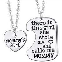 2 piece necklace set for Mom&Daughter Redding, 96001
