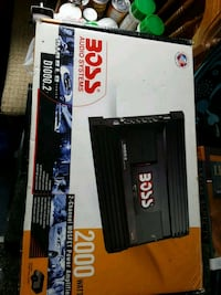 2000w boss amp in box never used Leominster, 01453