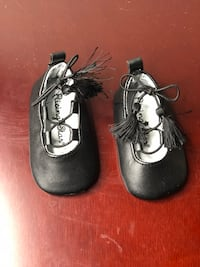 pair of black leather mary jane shoes Tallahassee, 32303