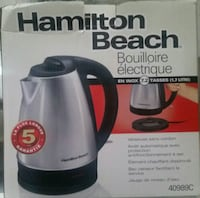 NEW Stainless steel electric KETTLE Toronto, M6M 4C2