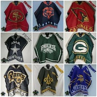 Sports Knit Ponchos