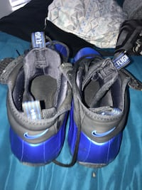 Pair of black-and-blue nike basketball shoes Germantown, 20876