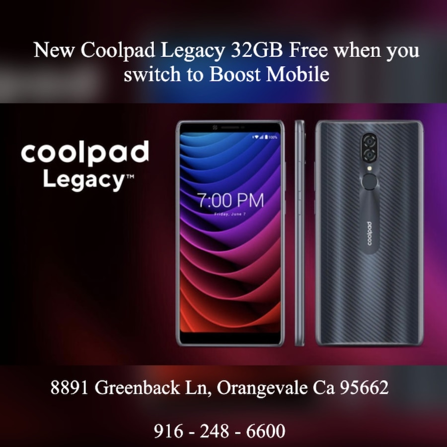 Photo New Coolpad Legacy 32GB - Boost Mobile