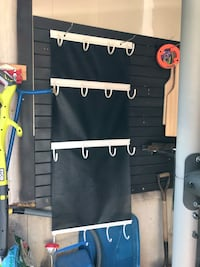 Hockey gear hanger
