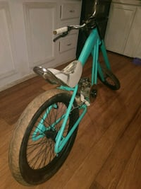 teal and white hardtail bike Greer, 29651